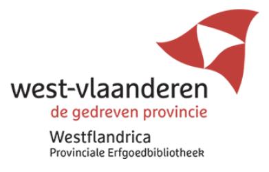 Erfgoedbibliotheek Westflandrica logo