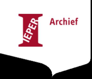 Stadsarchief Ieper logo