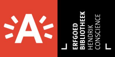 Erfgoedbibliotheek Hendrik Conscience logo
